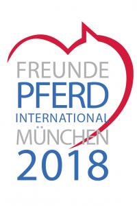 Logo Freunde Pferd International München 2018
