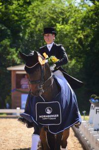 Siegerin Grand Prix Kür Jessica von Bredow-Werndl